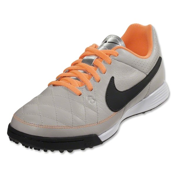 Nike Junior Tiempo Genio Leather TF (Desert Sand/Black)
