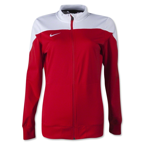 Nike Women's Squad 14 Sideline Knit Jacket (Red)