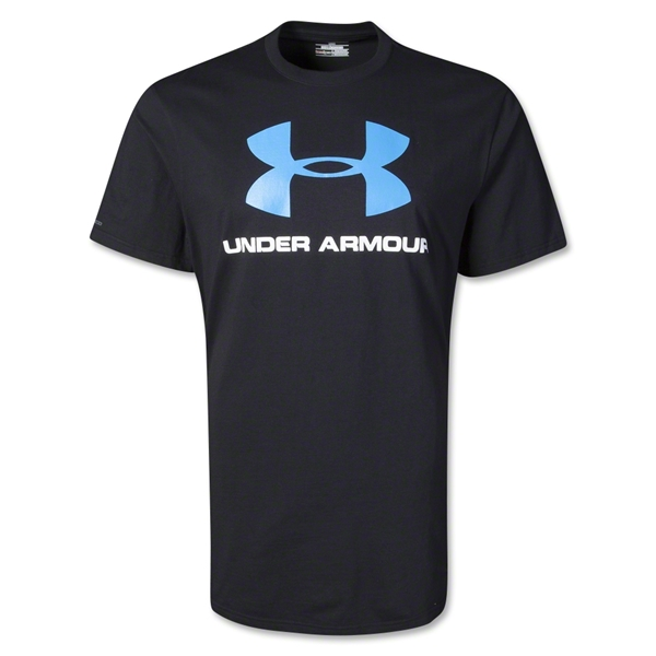 Under Armour Sportstyle Logo T-Shirt (Black)