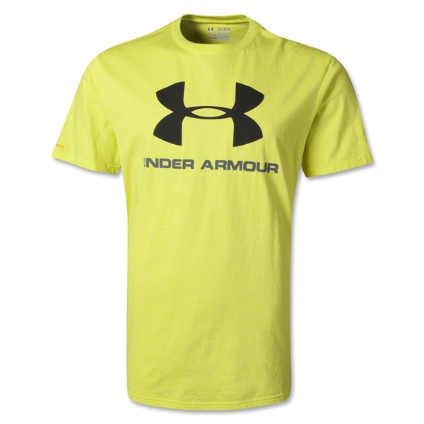 Under Armour Sportstyle Logo T-Shirt (Yellow)