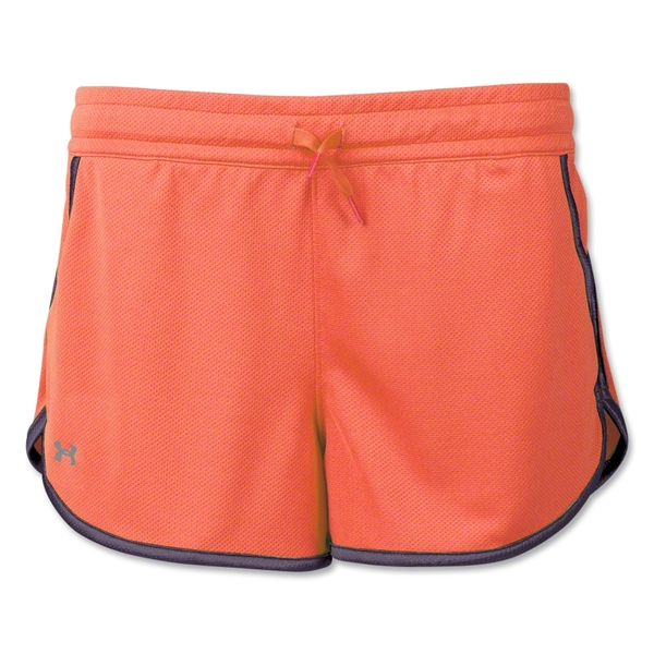 Under Armour Women's Rally Short (Orange)