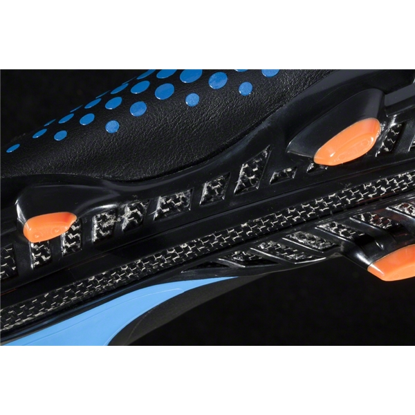 Under Armour Blur CBN IV FG (Black/Metallic Electric/Blaze Orange)