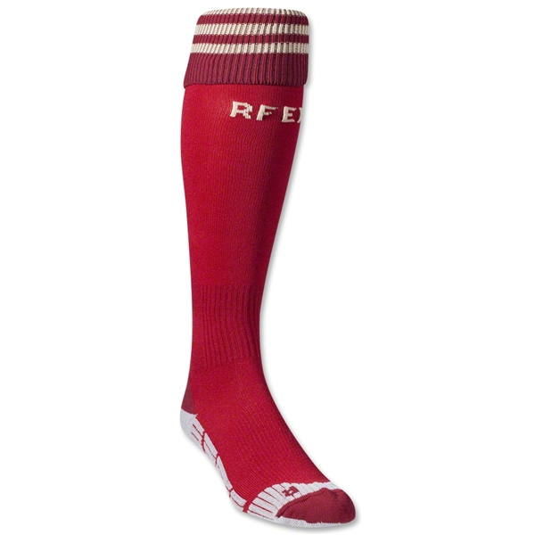 Spain 2014 Home Soccer Sock