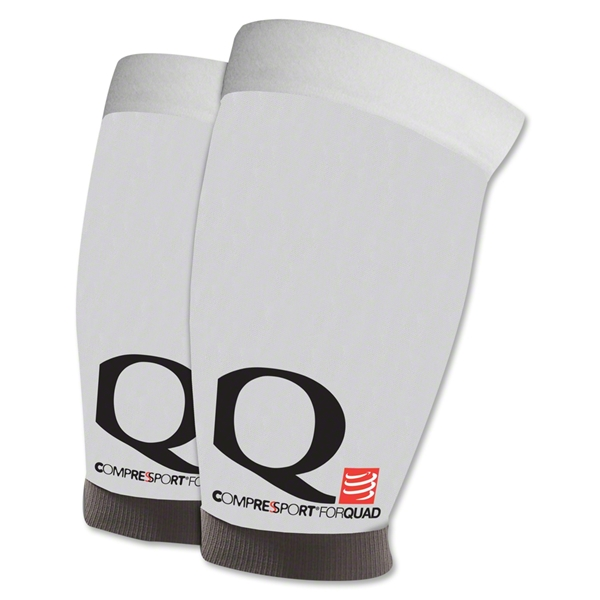 Compressport Quad Compression Sleeve (White)