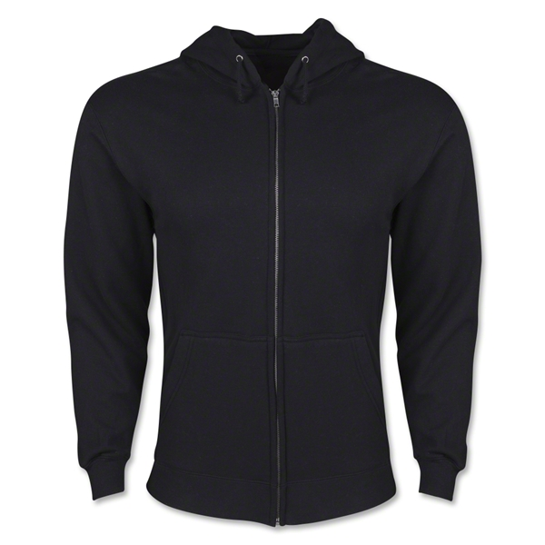 Full Zip Hooded Fleece (Black)