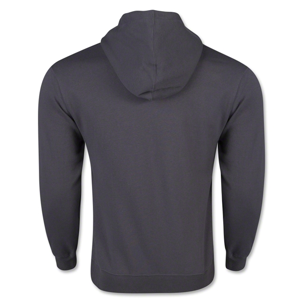 Full Zip Hooded Fleece (Dark Gray)