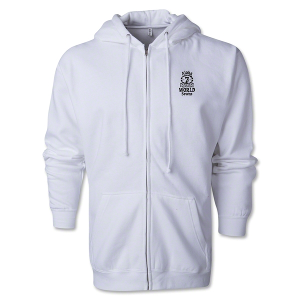Aloha World Sevens Full-Zip Hoody (White)