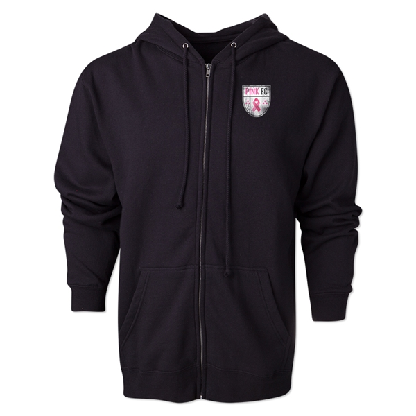 Pink FC Full Zip Fleece (Black)