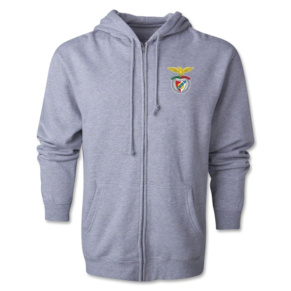 Benfica Full-Zip Hoody (Grey)