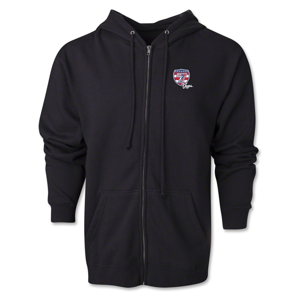 USA Sevens Vegas Rugby Full-Zip Hoody (Black)