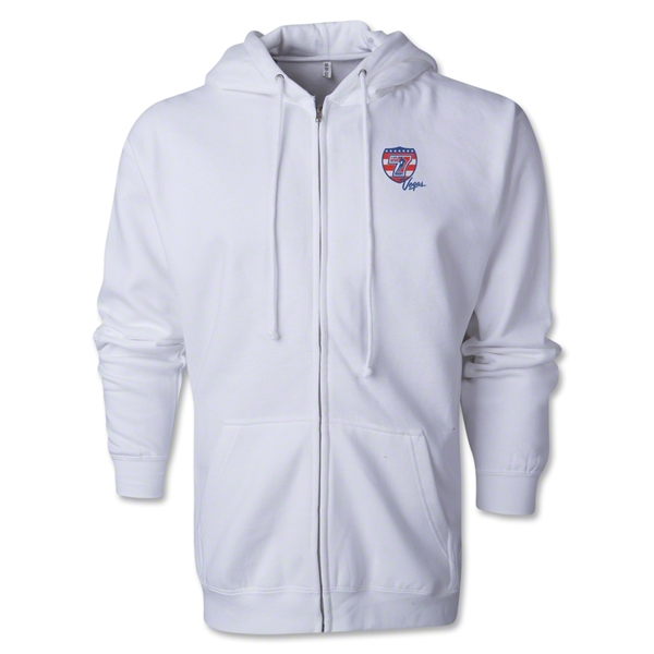 USA Sevens Vegas Rugby Full-Zip Hoody (White)