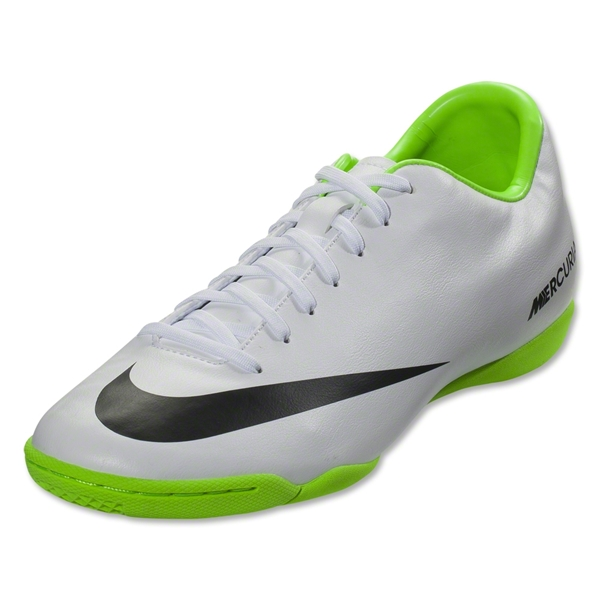 Nike Mercurial Victory IV IC (White/Black/Electric Green)