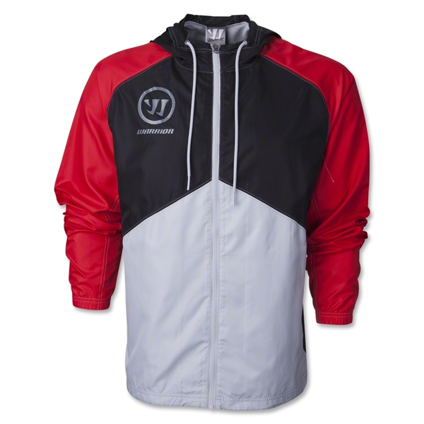 Warrior Poly Track Jacket (Red)