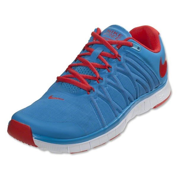 Nike Free Trainer 3.0 (vivid blue/white/light crimson)