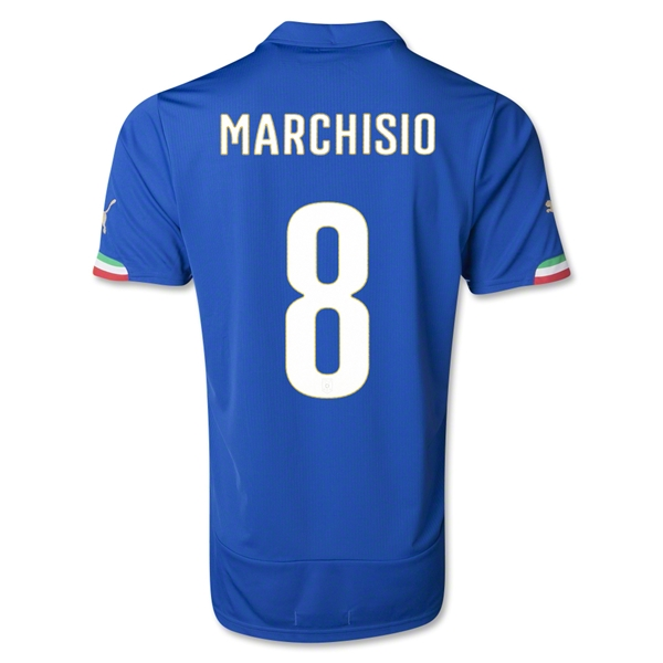 Italy 14/15 MARCHISIO Home Soccer Jersey