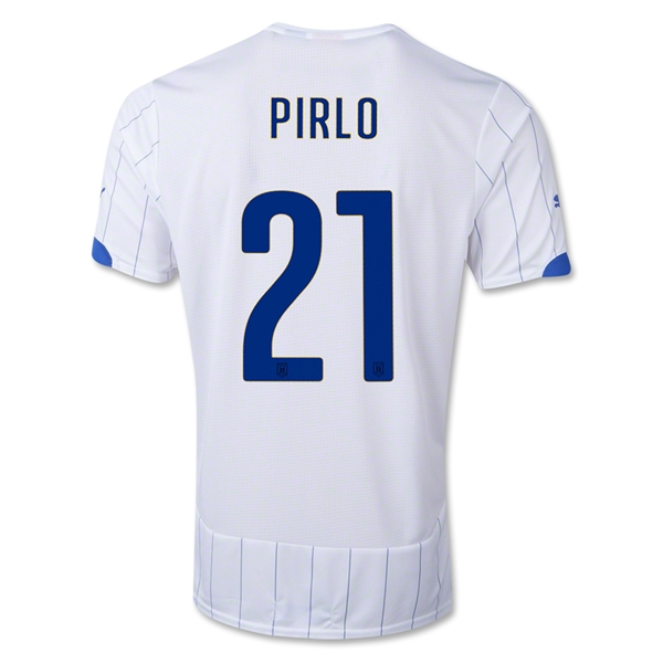 Italy 14/15 PIRLO Away Soccer Jersey