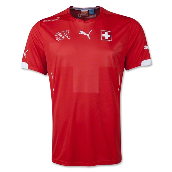 Switzerland 2014 Home Soccer Jersey