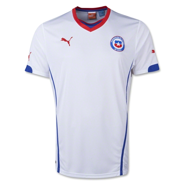 Chile 2014 Away Soccer Jersey