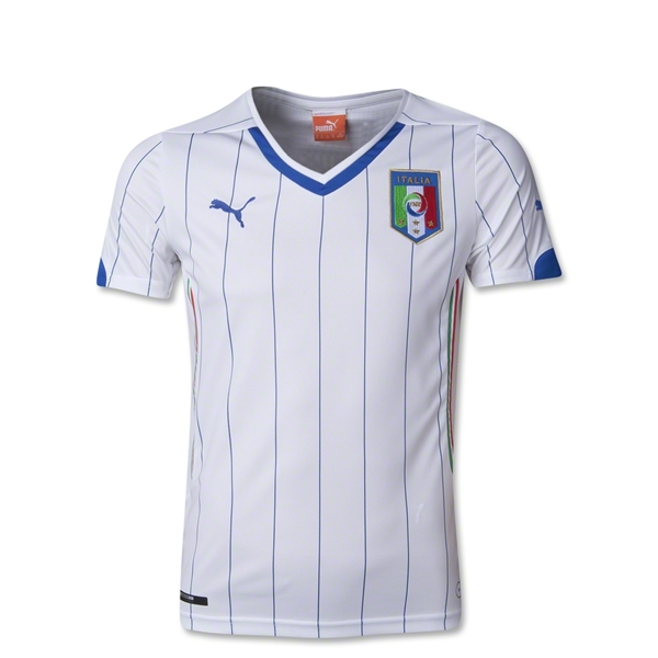 Italy 2014 Youth Away Soccer Jersey