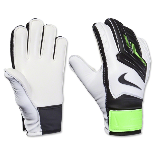 Nike GK Jr Grip Glove (White/Green/Black)