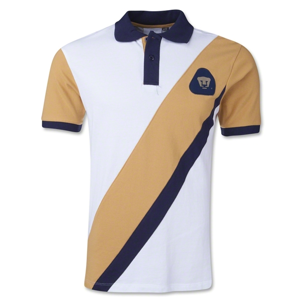 UNAM Pumas Striped Polo