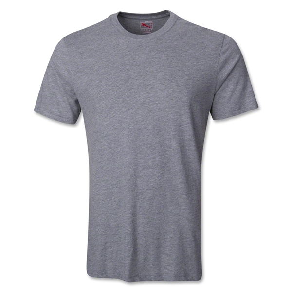 PUMA United Blank T-Shirt (Gray)