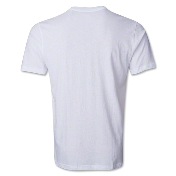 PUMA United Blank T-Shirt (White)