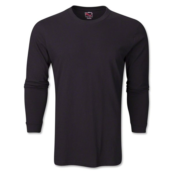 PUMA City Long Sleeve Blank T-Shirt (Black)