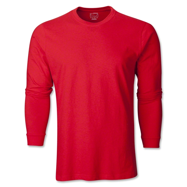 PUMA City Long Sleeve Blank T-Shirt (Red)