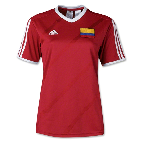 Colombia Women's Tabela 14 Jersey (Red)