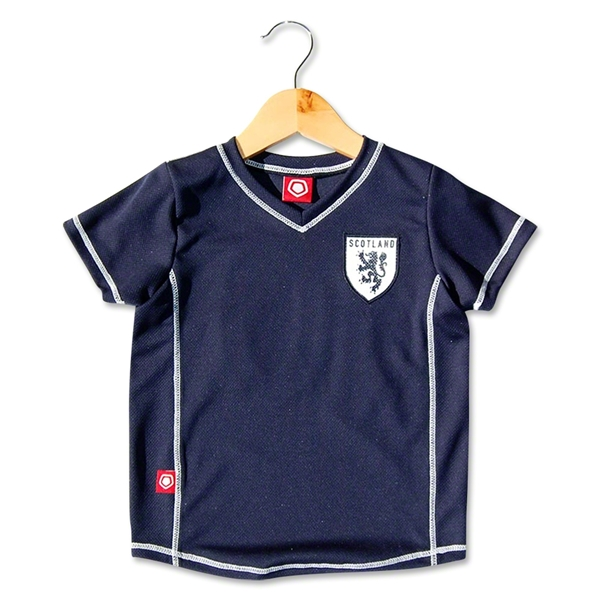 Scotland Toddler Soccer Jersey (Navy)