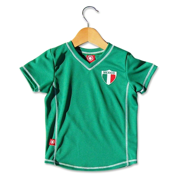 Mexico Toddler Soccer Jersey (Green)