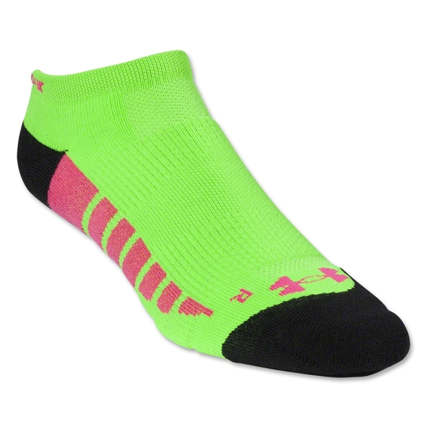 Under Armour Women's Full Cushion Performance Sock (Green/Alligators)