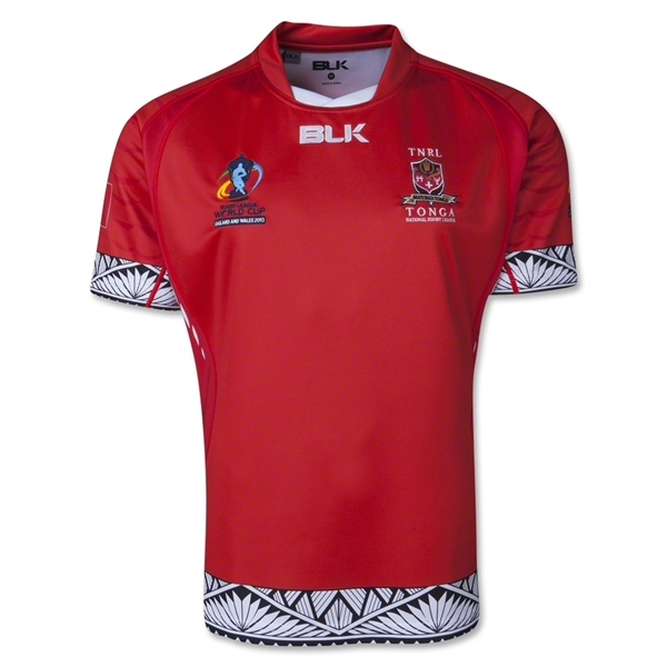Tonga Rugby League 13/14 Home Jersey
