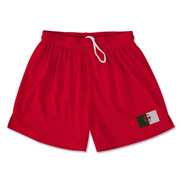 Algeria Team Soccer Shorts (Red)