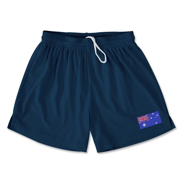 Australia Team Soccer Shorts (Navy)