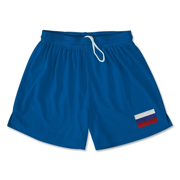 Russia Team Soccer Shorts (Royal)