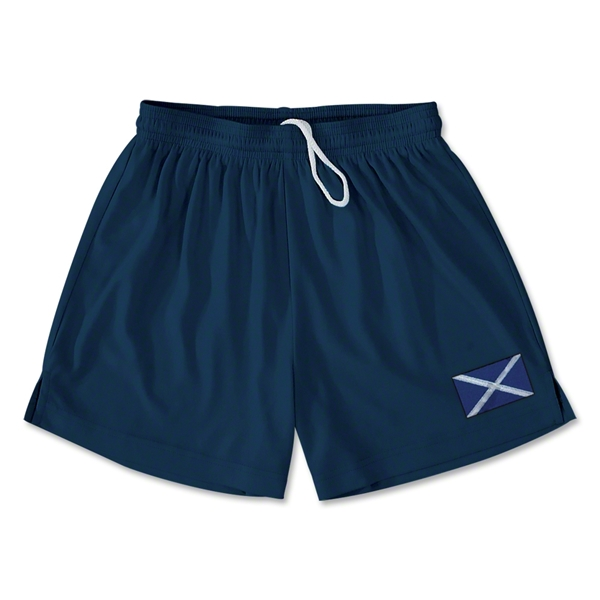 Scotland Team Soccer Shorts (Navy)