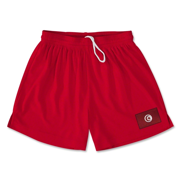 Tunisia Team Soccer Shorts (Red)