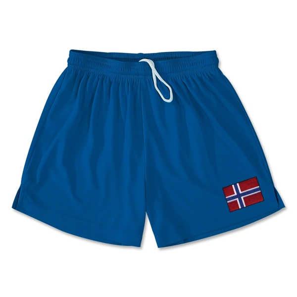 Norway Team Soccer Shorts (Royal)
