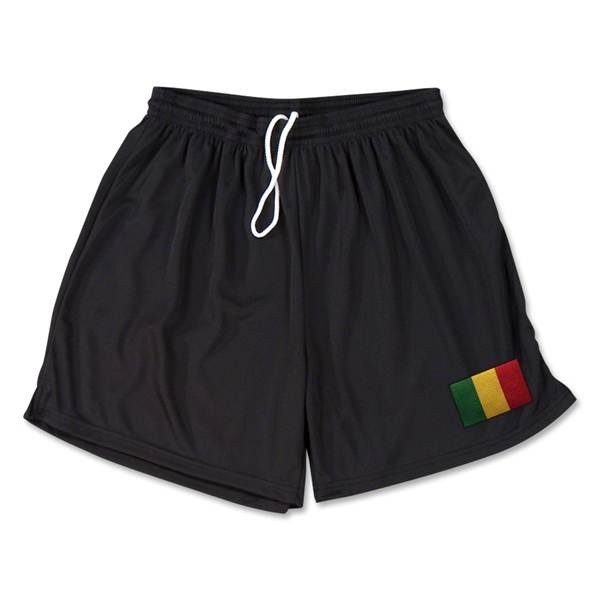 Mali Team Soccer Shorts (Black)