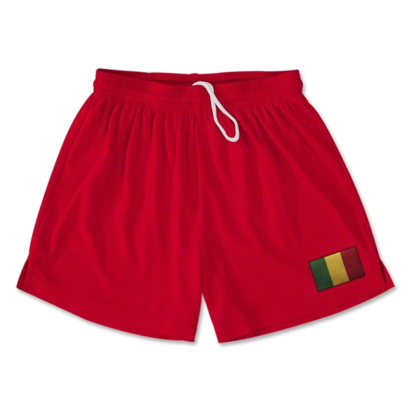 Mali Team Soccer Shorts (Red)