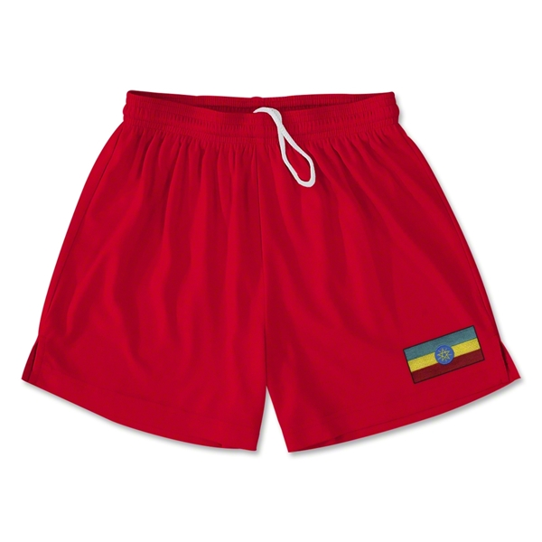 Ethiopia Team Soccer Shorts (Red)