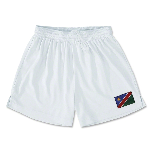 Namibia Team Soccer Shorts (White)