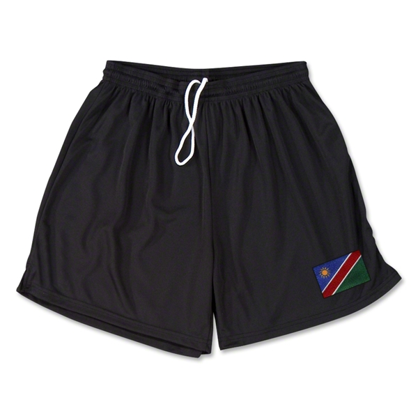 Namibia Team Soccer Shorts (Black)
