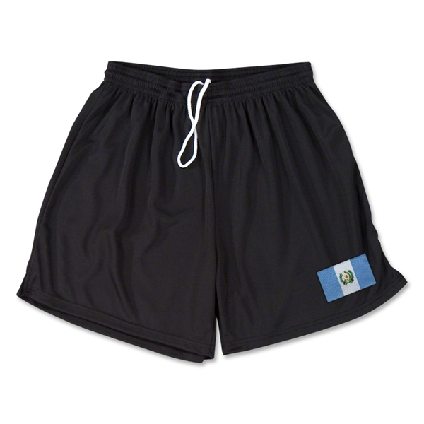Guatemala Team Soccer Shorts (Black)