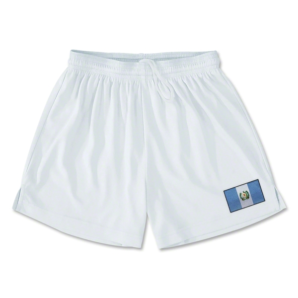 Guatemala Team Soccer Shorts (White)