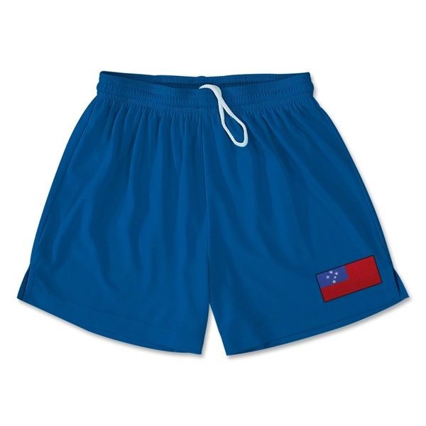 Samoa Team Soccer Shorts (Royal)