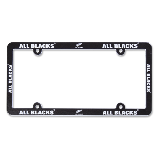 All Blacks License Plate Frame