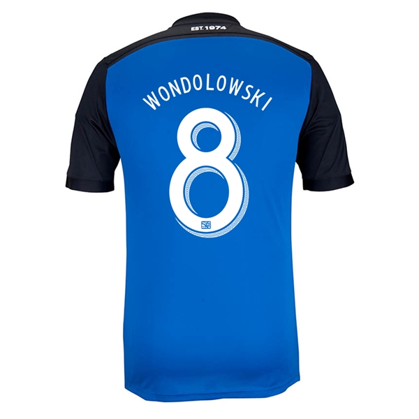 San Jose Earthquakes 2014 WONDOLOWSKI Primary Soccer Jersey